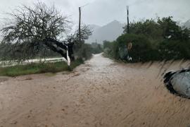 Regen macht in Mallorcas Nordosten Probleme