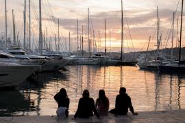 Diese romantische Hafenstimmung fand Victoria Romanyuk reizvoll.
