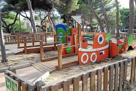 Neuer Park an der Playa der Palma eingeweiht