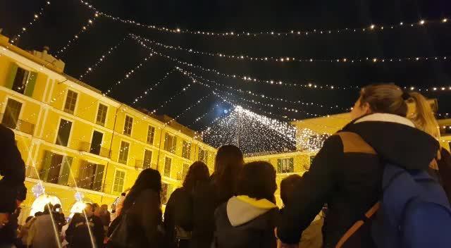 Weihnachtsbeleuchtung in Palma feierlich angeknipst