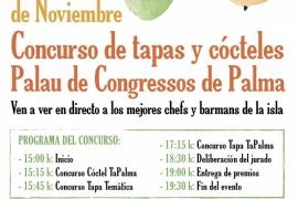 Zeitplan für Montag im Kongresspalast von Palma de Mallorca.