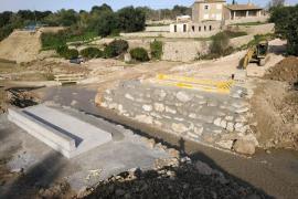 Militärbrücke zwischen Artà und Port d'Alcúdia fast fertig