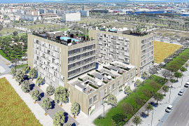 PALMA - La inmobiliaria Metrovacesa proyecta construir 550 viviendas en el Nou Llevant
