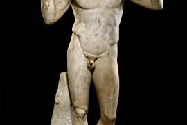 Schau über griechische Antike im Caixa-Forum