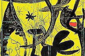 Versteigerung von Miró-Drucken für die Opfer von Sant Llorenç