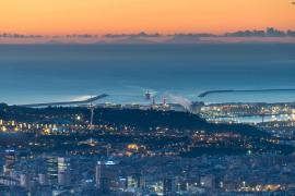 Mallorca von Barcelona aus klar zu sehen