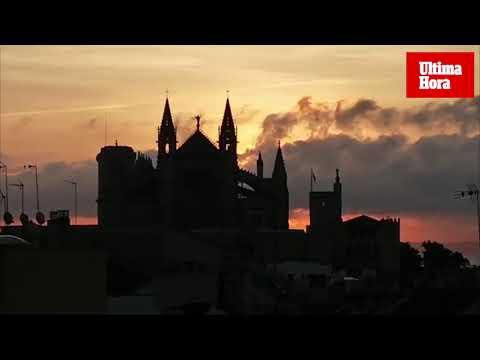 """Wolkenband verfinstert den """"Rubin"""" der Kathedrale"""