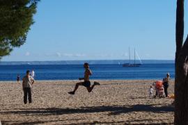 Viel Sonne auf Mallorca am letzten Wochenende 2018