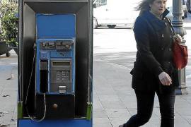 Mallorca-Telefonzellen bleiben erst einmal stehen