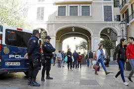 Polizeipräsenz in Palmas Straßen drastisch erhöht
