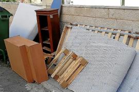 Sperrmüll wird in Calvià zu einem großen Problem