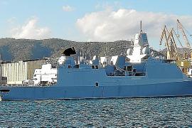 Piratenjäger-Fregatte macht in Palma fest