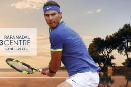 Rafael Nadal eröffnet Tennis Centre in Griechenland