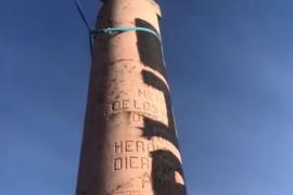"""Separatisten zerstören Stele für die """"Baleares""""-Toten"""