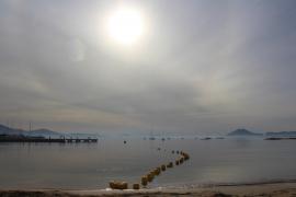Wetter-Lotterie bei Sant-Sebastià-Feiern in Palma