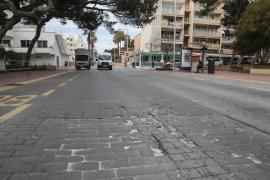 Palma bringt Playa-Straßen im Winter auf Vordermann