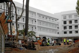 Viele Mallorca-Hotels werden im Winter zur Baustelle
