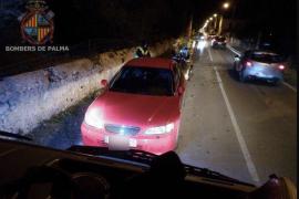 Sturmschaden im Stadtteil Secar de la Real in Palma de Mallorca.