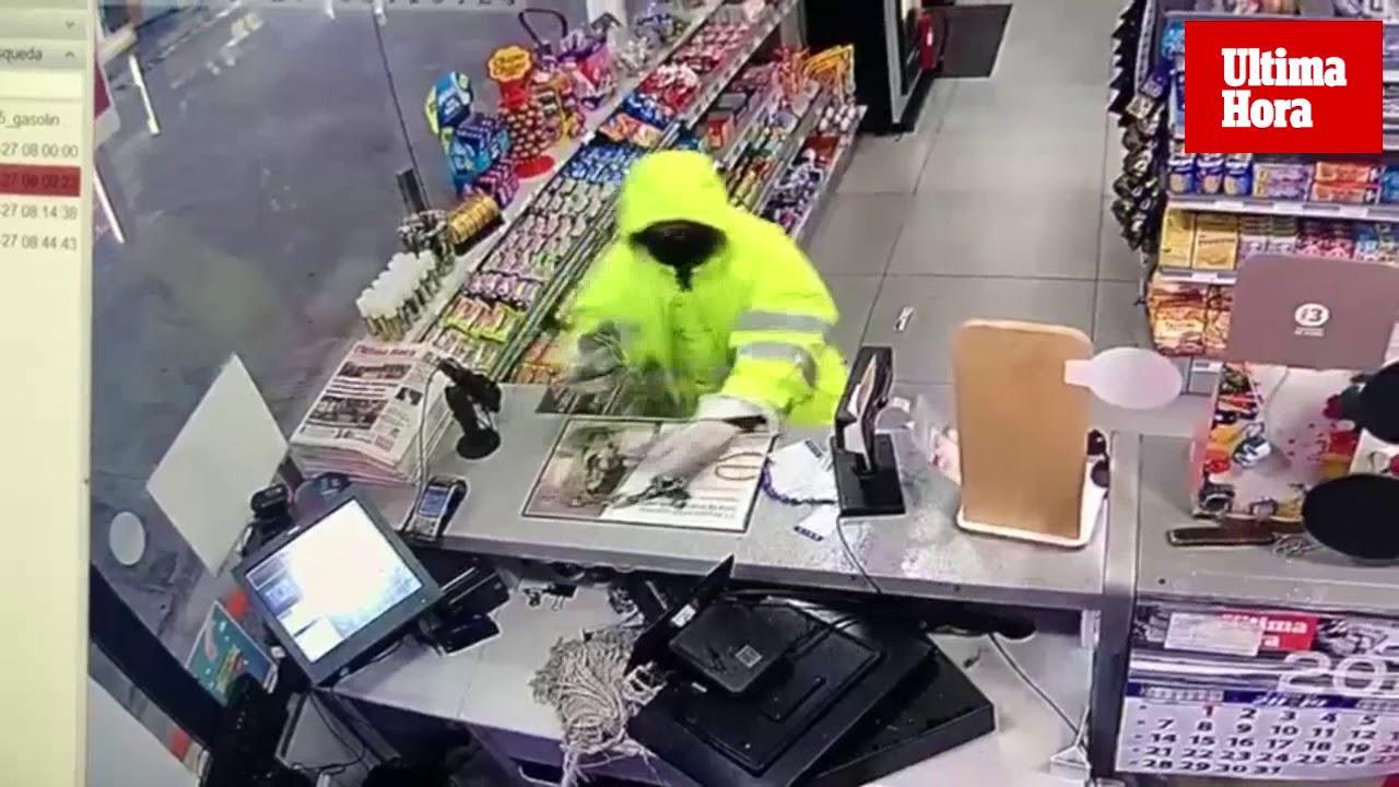 Mann nach Überfall auf Tankstelle verletzt