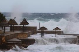 Wind und Wellen! Alarmstufe Gelb auf Mallorca