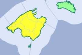 Unwetter-Warnung auf Mallorca.