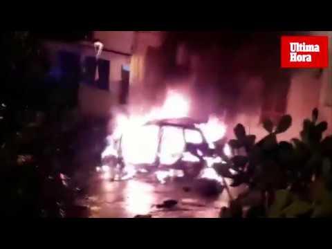 Frau zündet Auto von gewalttätigem Freund an