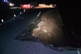 Landstraße von Inca nach Lluc weiterhin gesperrt