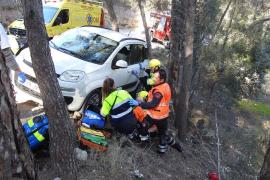 Französin auf Mallorca von eigenem Auto überrollt