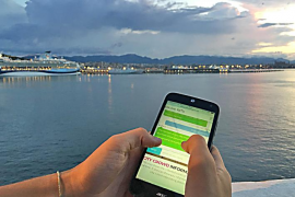 Eine App sagt, wo es in Palma zu voll ist