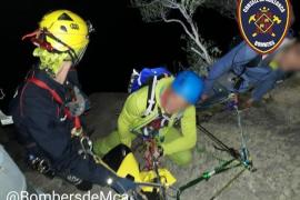 Feuerwehr rettet fünf Kletterer bei Bunyola