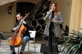 Crossover in Palma mit Sopran und Cello