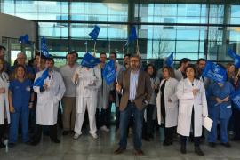 Ärzte demonstrieren für bessere Arbeitsbedingungen