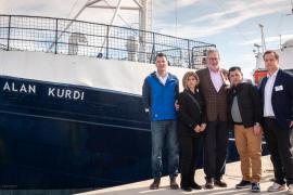 Sea-Eye tauft Schiff in Palma auf Alan Kurdi um
