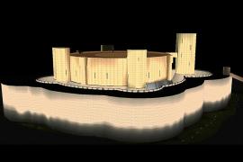 Bellver-Burg wird bald ganz anders leuchten