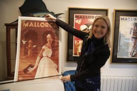 Meg Gage Williams in ihrer Galerie in Palma de Mallorca.