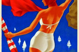 Mallorca-Plakat von Stick No Bills.