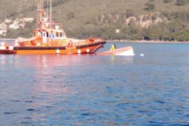 Menorca-Schnellfähre bringt Fischerboot zum Kentern
