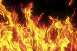 Schreinerei in Port de Pollença wird Raub der Flammen