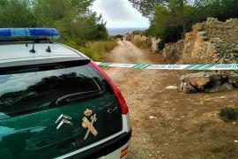 Die Guardia Civil sperrte den Weg zur Finca ab.