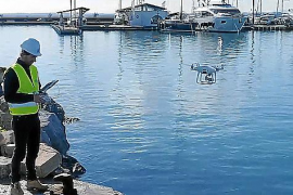 Drohnen sollen Mallorcas Häfen überwachen