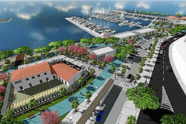 Kein Umbau der ersten Meereslinie in Port d'Alcúdia