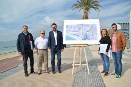 Bauarbeiten am Paseo Marítimo in Palma beginnen im April