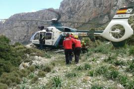 Deutscher Wanderer auf Mallorca per Heli gerettet