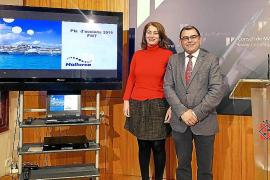 Sind für die Planung der mallorquinischen Präsenz in Berlin zuständig: Wirtschaftsdezernent Cosme Bonet und Tourismusdirektorin