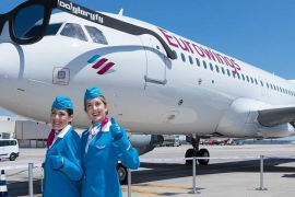 Eurowings ist pünktlichste Airline Europas