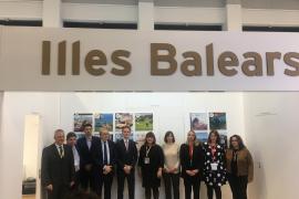 Auf der ITB hat sich die Balearen-Regierung mit den wichtigsten deutschen Reiseveranstaltern über drohende Buchungsrückgänge ber