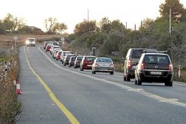 Staus auf Todesstraße bei Llucmajor nerven Autofahrer