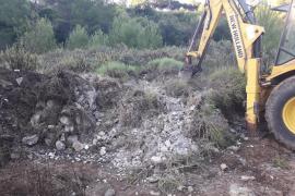Emaya entfernte 1545 Tonnen Bauschutt in Palma