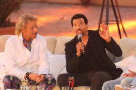 Thomas Gottschalk 2010 im Gespräch mit Lionel Richie.