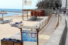 Doch kein Baulärm in Cala Bona mitten im Sommer
